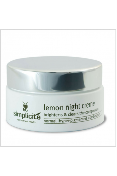 Simplicité Lemon Night Creme 55g